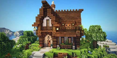 Maison de minecraft