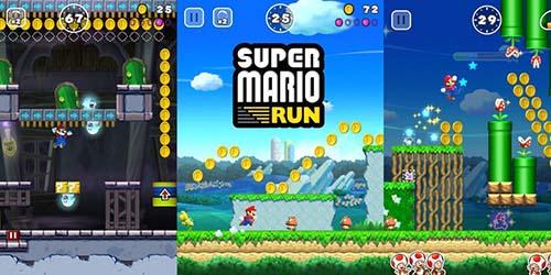 Gameplay de Super Mario Run