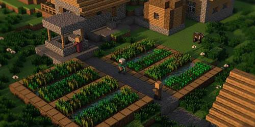 Village dans minecraft