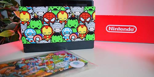 Étui de Dock Nintendo Switch de Active Patch