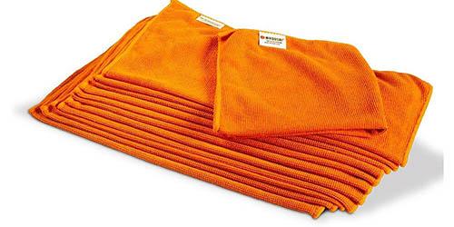 Chiffons antimicrobiens orange