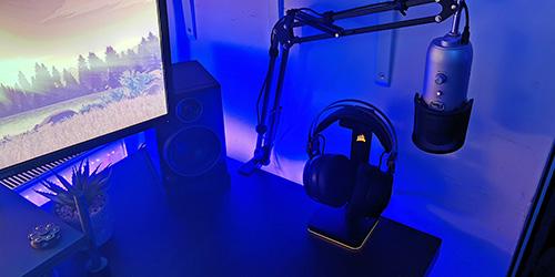Setup audio