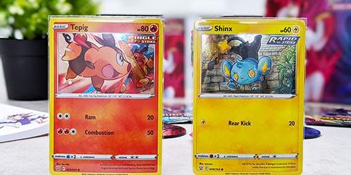 Cartes Gruiki et Lixy de Style de Combat