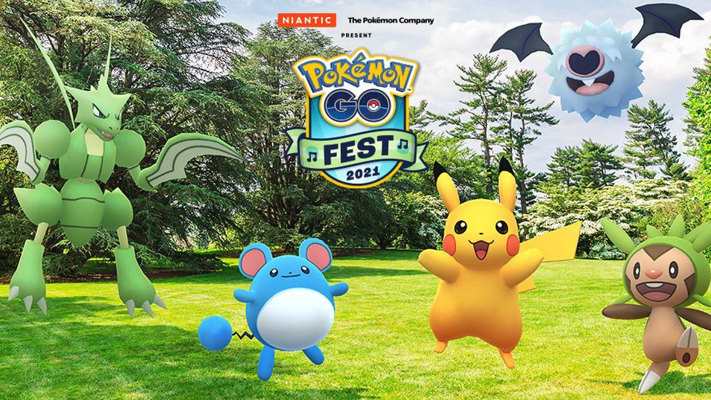 Événement de Pokémon GO Fest