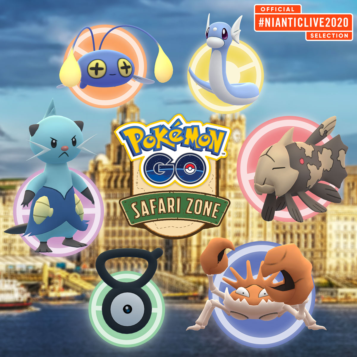 Événement de Pokémon GO Safari Zone (Liverpool)