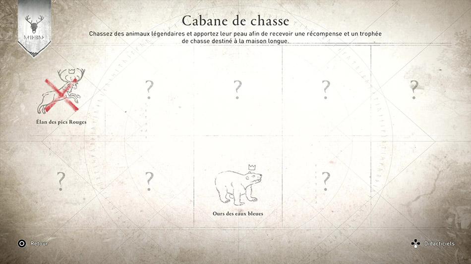 Emplacement des animaux alpha dans Assassin's Creed Valhalla