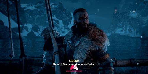 Arrivé de Sigurd