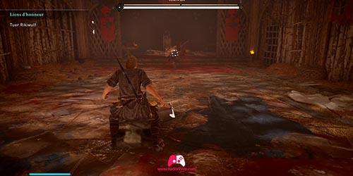 Combat contre Rikiwulf