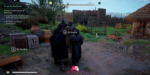 Se fondre avec les moines