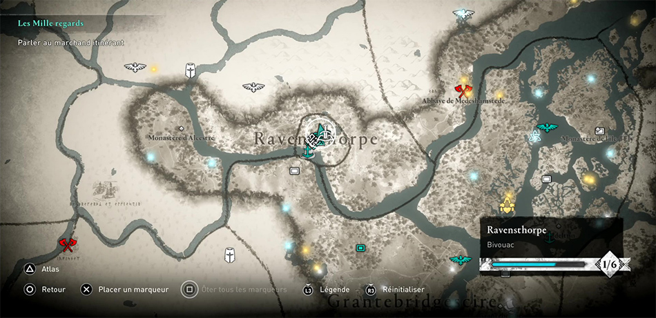 Soluce de la région de Ravensthorpe dans Assassin's Creed Valhalla