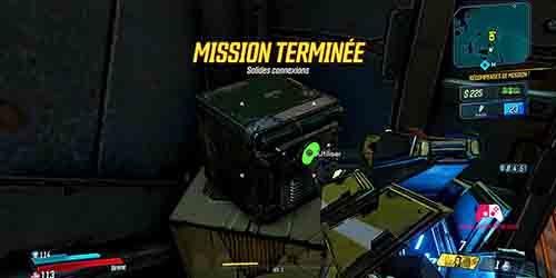 Fin de la mission
