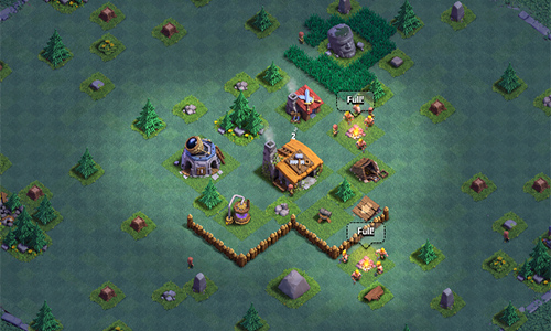 Guides de la base des ouvriers  de Clash of Clans