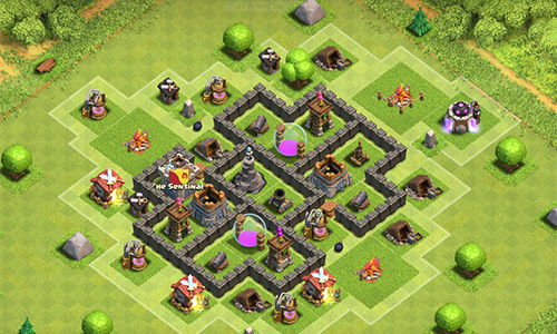 Guides du village principale de Clash of Clans