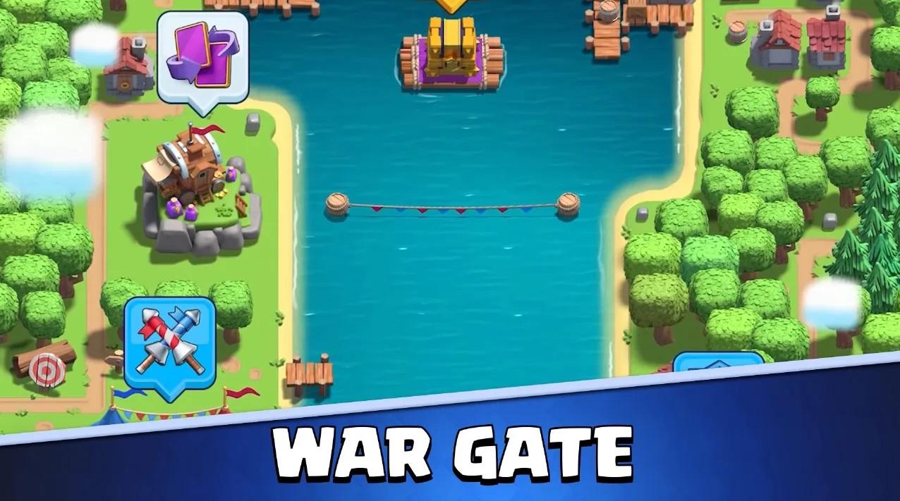Porte de guerre