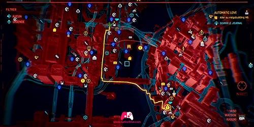 Carte du Megabuilding H8