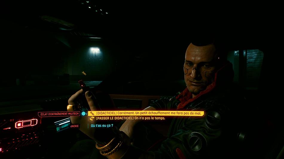 Soluce de la mission C'est en forgeant... de Cyberpunk 2077