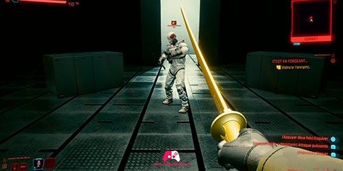 Combat au sabre