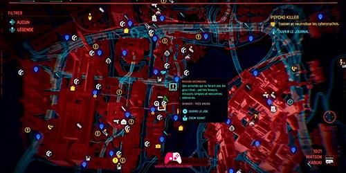 Carte du Cyberpsycho