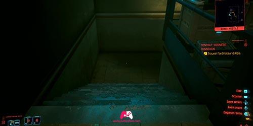 Descendre les escaliers