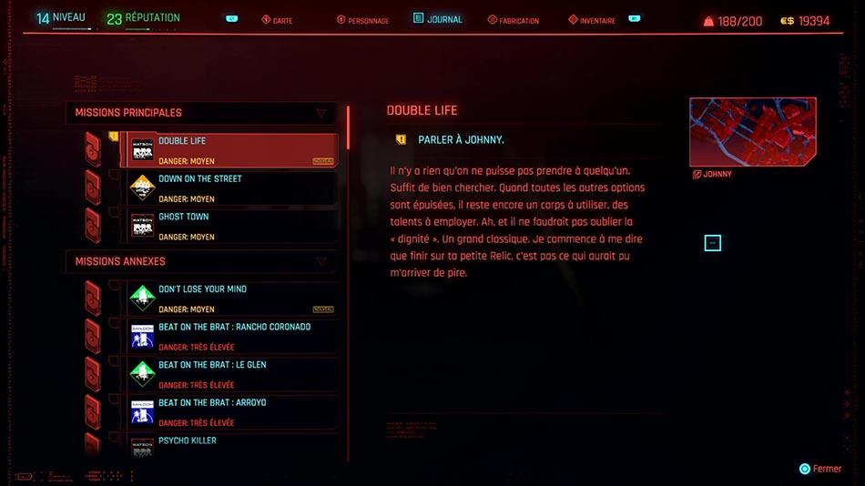 Soluce de la mission Double Life de Cyberpunk 2077
