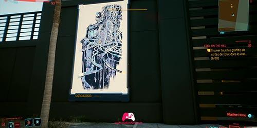 Carte du graffiti L'empereur
