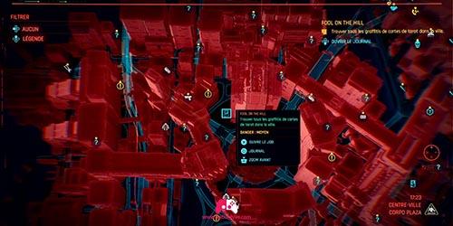 Carte du graffiti La Tour