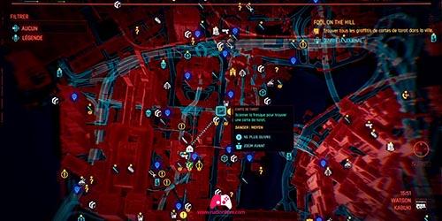 Carte du graffiti Le Bateleur