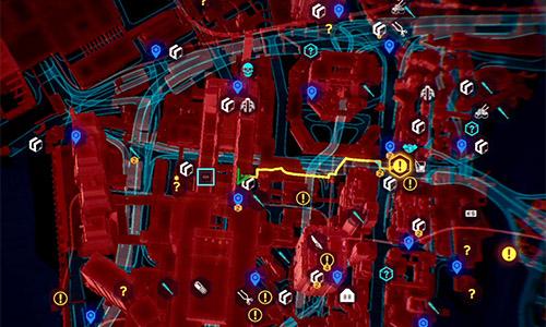 Guides des collectibles dans Cyberpunk 2077