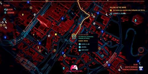 Carte du routeur 1