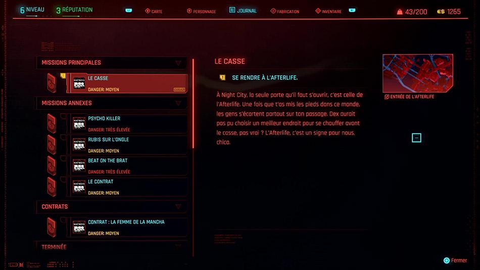 Soluce de la mission Le casse de Cyberpunk 2077