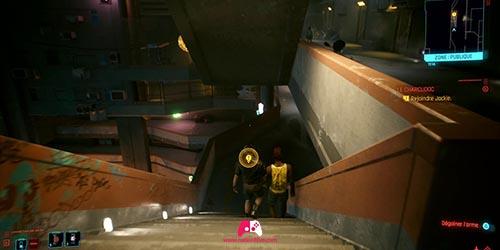 Descendre des escalier