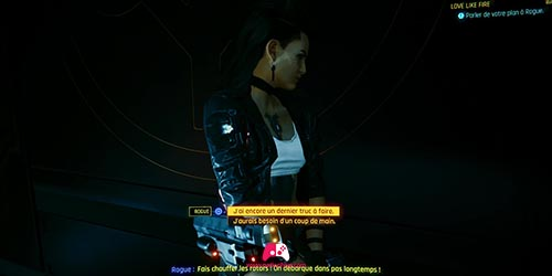 Parler Rogue Ascenseur