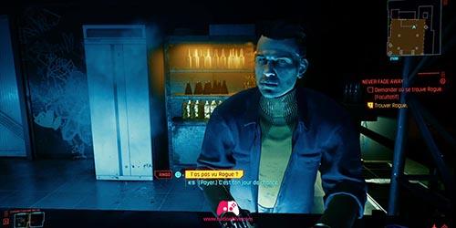 Parler au Barman