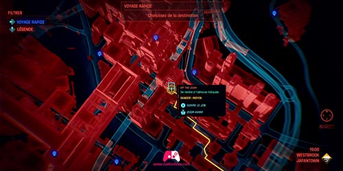 Carte de la mission