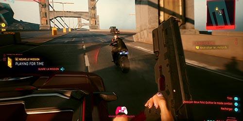 Ennemis en moto