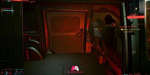 Montez dans le van