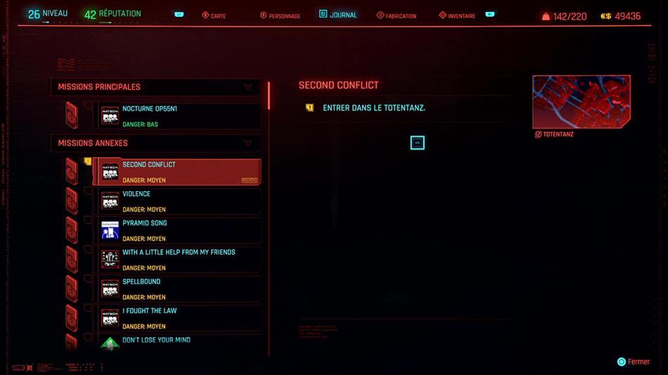 Soluce de la mission Second Conflit de Cyberpunk 2077