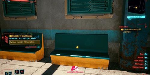 Attendre sur le banc