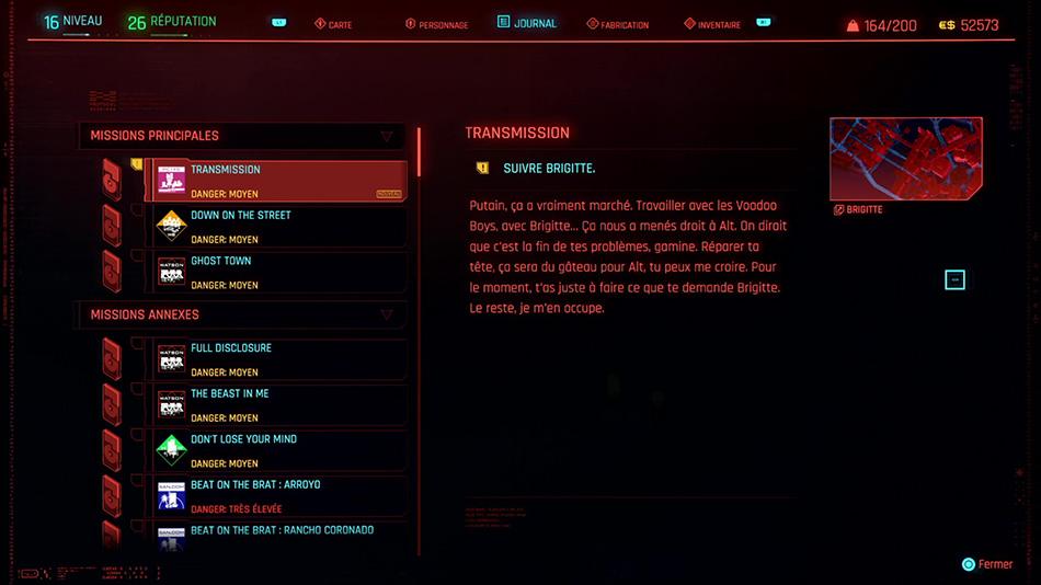 Soluce de la mission Transmission de Cyberpunk 2077
