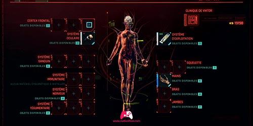 Ajouter un implant dans toutes les parties du corps