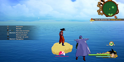 Son Goku et Picolo