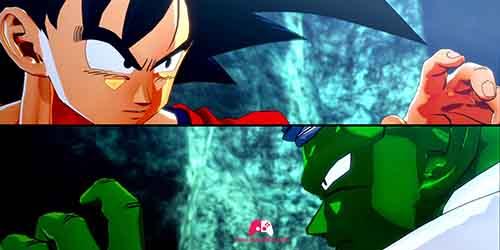 Début du combat contre Piccolo