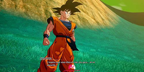 Arrivé de Son Goku