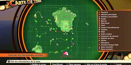 Carte de Dragon Ball