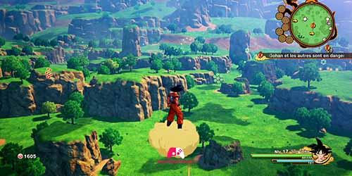 Son Goku en chemin