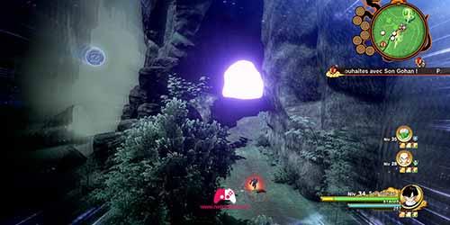 Trouver une grotte avec la vu Ki