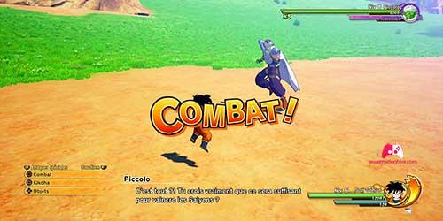 Combat contre Piccolo