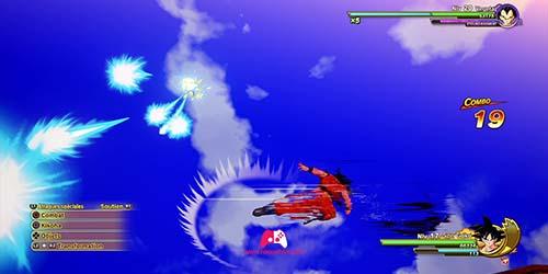 Esquive de Son Goku