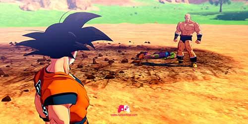 Son Goku à la défense de Son Gohan