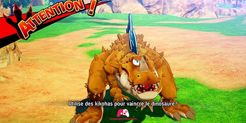 Chasse au dino